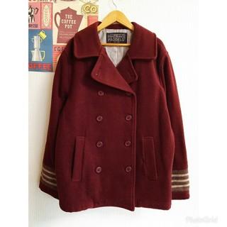 ケティ(ketty)のケティ昭和レトロ個性派古着vintage秋冬ウールコート ジャケット ブルゾン(ブルゾン)