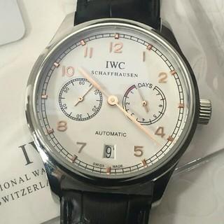 インターナショナルウォッチカンパニー(IWC)のIWC IW500114 シルバー文字盤 メンズ 腕時計 自動巻き(腕時計(アナログ))