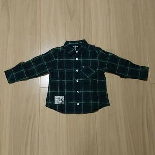 クレードスコープ(kladskap)のクレードスコープ ボタンシャツ 100サイズ(Tシャツ/カットソー)