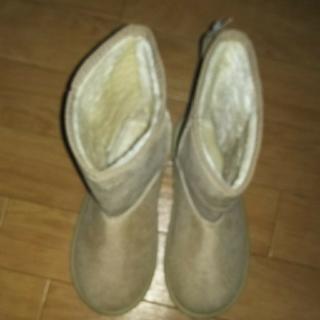 ナイスクラップ(NICE CLAUP)のNICE CLAUPベージュ新品ブーツ(ブーツ)