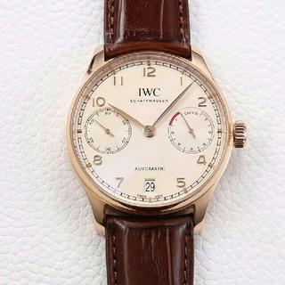 インターナショナルウォッチカンパニー(IWC)のIW500113 IWCメンズ腕時計ポルトギーゼ アナログ 自動巻き カレンダー(腕時計(アナログ))