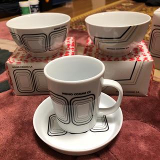 コムサコレクション(COMME ÇA COLLECTION)の未使用☆モノコムサ マグカップ&お茶碗 2個セット(食器)