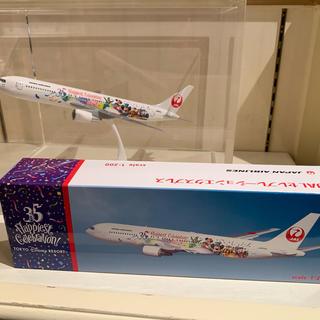 ディズニー(Disney)のディズニーランド35周年   JALセレブレーションエクスプレス   飛行機 (模型/プラモデル)
