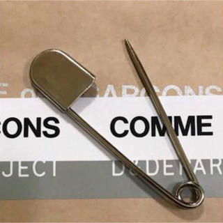 COMME des GARCONS - ラスト1個!新品 送料込 コムデギャルソン ビッグピン ビックピン シルバー