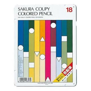 サクラクレパス(サクラクレパス)のサクラクレパス クーピー色鉛筆18色(スタンダード) PFY18(ペン/マーカー)