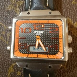 アヴィレックス(AVIREX)のアヴィレックスクオーツ時計(腕時計(アナログ))