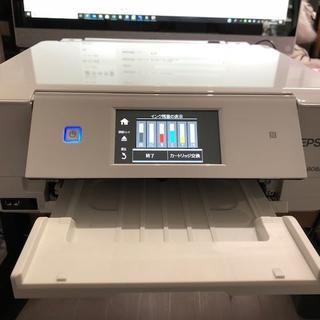 エプソン(EPSON)の「美品」カラリオ EP-808AW プリンター(OA機器)