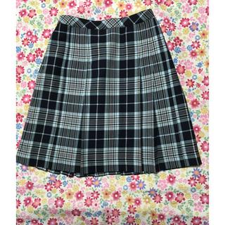 ザスコッチハウス(THE SCOTCH HOUSE)の美品 スコッチハウス スカート 160 青(スカート)