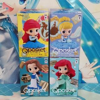 ディズニー(Disney)のディズニー QposKet四種セット(アメコミ)