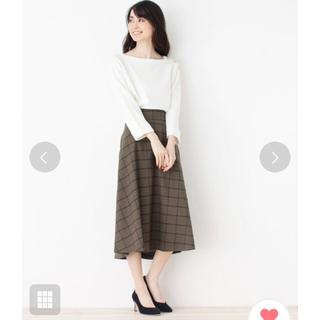 オペークドットクリップ(OPAQUE.CLIP)のミラオーウェン ♡ZARA♡好きさんへ♡(ひざ丈スカート)