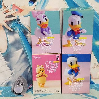 ディズニー(Disney)のディズニーキャラクターズ/fluffy puffy五種セット(アメコミ)