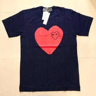 コムデギャルソン(COMME des GARCONS)の【青山店限定】PLAY COMME des GARÇONS インディゴTシャツM(Tシャツ/カットソー(半袖/袖なし))