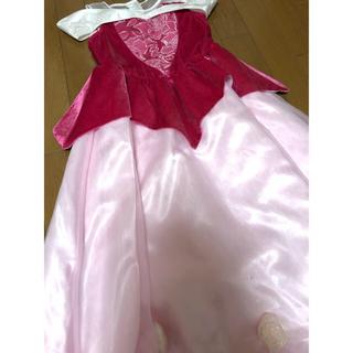 ディズニー(Disney)のディズニーリゾート オーロラ姫のドレス 120(ドレス/フォーマル)