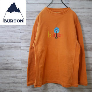 バートン(BURTON)のBurton クルーネックスウェット 厚手カットソー バートン(スウェット)