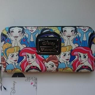 ディズニー(Disney)の2 ラウンジフライ ディズニープリンセス 長財布(財布)
