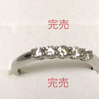 ジュエリーツツミ(JEWELRY TSUTSUMI)のプラチナダイヤモンドリング 新品 未使用 ㊗️完売(リング(指輪))