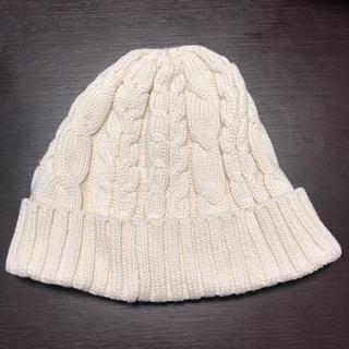 イーハイフンワールドギャラリー(E hyphen world gallery)のケーブル編みニット帽(ニット帽/ビーニー)
