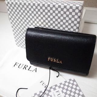 Furla - 正規品♡美品♡フルラ 折りたたみ財布 バビロン 黒 レザー バッグ 財布 小物