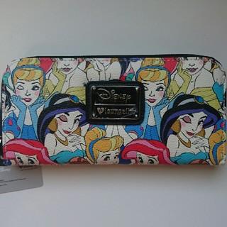 ディズニー(Disney)の3 ディズニープリンセス ラウンジフライ 長財布(財布)