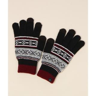 レイジブルー(RAGEBLUE)の新品◆ニットタッチパネル 手袋(手袋)