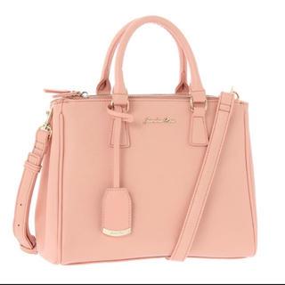 ジュエルナローズ(Jewelna Rose)の【Jewelna Rose】♡月9で紗栄子さん着用 2way ローズピンクバッグ(ハンドバッグ)