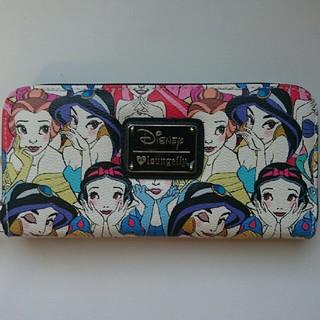 ディズニー(Disney)の4 ディズニープリンセス ラウンジフライ 長財布(財布)