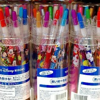 ディズニー(Disney)の☆ディズニーリゾート限定☆ キャラクター カラー ボールペン セット(ペン/マーカー)