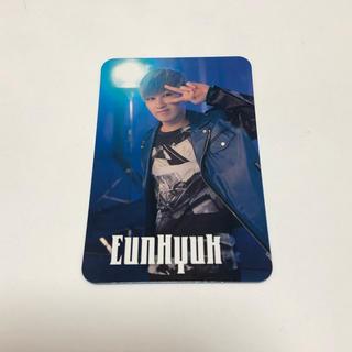 スーパージュニア(SUPER JUNIOR)のSUPERJUNIOR Blue World トレカ ウニョク(アイドルグッズ)