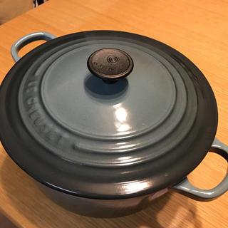 ルクルーゼ(LE CREUSET)のルクルーゼ ココットロンド オーシャン(鍋/フライパン)