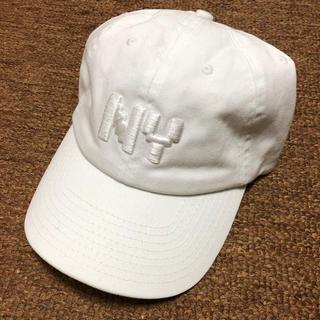 ニューエラー(NEW ERA)の新品 bwood 帽子 CAP キャップ NY ピザ 星条旗 ホワイト 白(キャップ)
