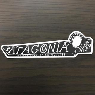 パタゴニア(patagonia)の【縦4.5cm横14.5cm】patagonia パタゴニア  公式ステッカー(ステッカー)