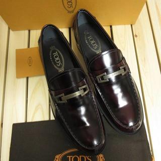 トッズ(TOD'S)のトッズ 新品 イタリア製 レザービットローファー 革靴 サイズ9 28cm相当(スリッポン/モカシン)