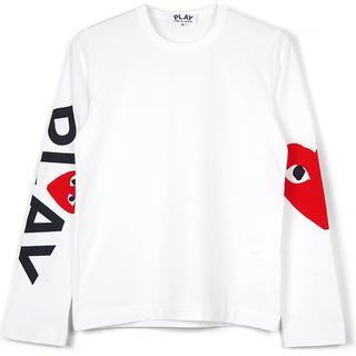 コムデギャルソン(COMME des GARCONS)の最新作 国内正規品 プレイコムデギャルソン A サイズM(Tシャツ(長袖/七分))
