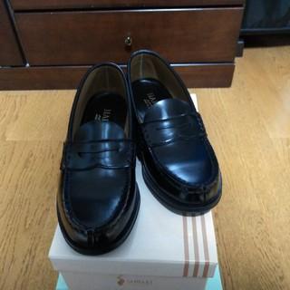 ハルタ(HARUTA)のHARUTA ローファー 黒 23cmEE 日本製 ハルタ(ローファー/革靴)