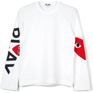 コムデギャルソン(COMME des GARCONS)の最新作 新品 プレイコムデギャルソン L/S A サイズS (Tシャツ/カットソー(七分/長袖))
