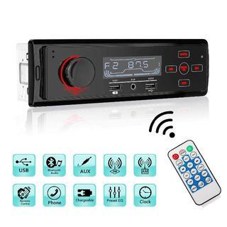カーステレオ Bluetoothハンズフリー通話/AUX/USB対応 (カーオーディオ)