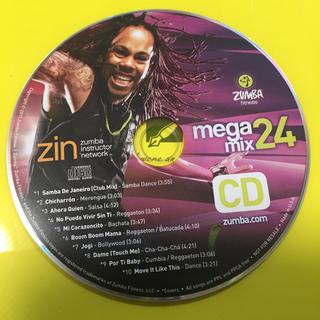 ズンバ(Zumba)のzumba megamix 24   ズンバCD(スポーツ/フィットネス)