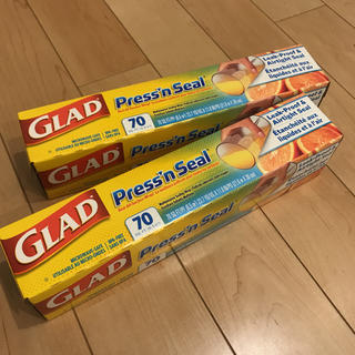 イケア(IKEA)の新品 未使用 GLAD マジックラップ 2個セット(収納/キッチン雑貨)