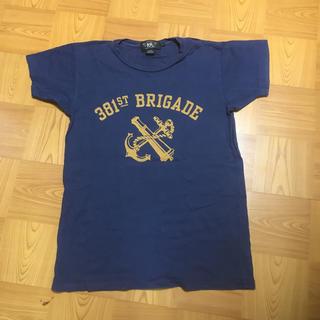 ダブルアールエル(RRL)のRRL ネイビーTシャツ 値下げなし(Tシャツ/カットソー(半袖/袖なし))