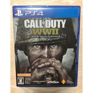 プレイステーション4(PlayStation4)のCALL OF DUTY WW2(家庭用ゲームソフト)