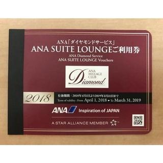 エーエヌエー(ゼンニッポンクウユ)(ANA(全日本空輸))のANA SUITE LOUNGE ペア利用券(2枚)有効期限3月末まで。(その他)
