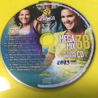 ズンバ(Zumba)のzumba mega mix36  ズンバCD(スポーツ/フィットネス)