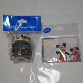 Disney - ディズニー 実写 マスキングテープ ふせん