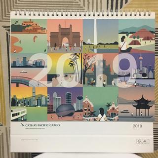 新品✈︎Cathay Pacific 航空 卓上カレンダー(航空機)