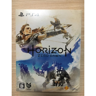 プレイステーション4(PlayStation4)のHORIZON ZERO DAWN(家庭用ゲームソフト)
