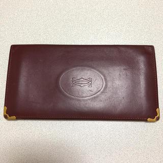 カルティエ(Cartier)のカルティエ    長財布  本革  美品(長財布)