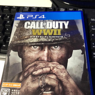 プレイステーション4(PlayStation4)のcod ww2(家庭用ゲームソフト)