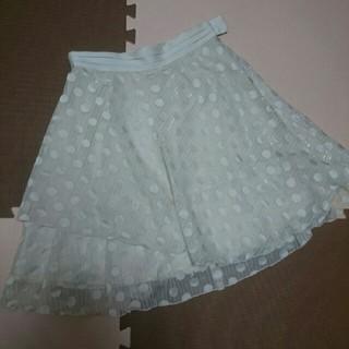 ネットディマミーナ(NETTO di MAMMINA)の水玉スカート(ひざ丈スカート)