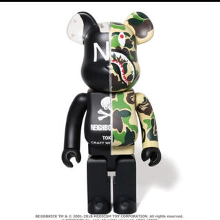 MEDICOM TOY - BAPE® NBHD ABC SHARK BE@RBRICK 1000%