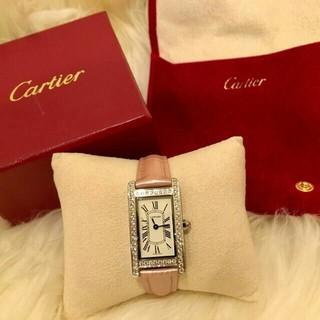 カルティエ(Cartier)のカルティエ SM ダイヤベゼル(腕時計)